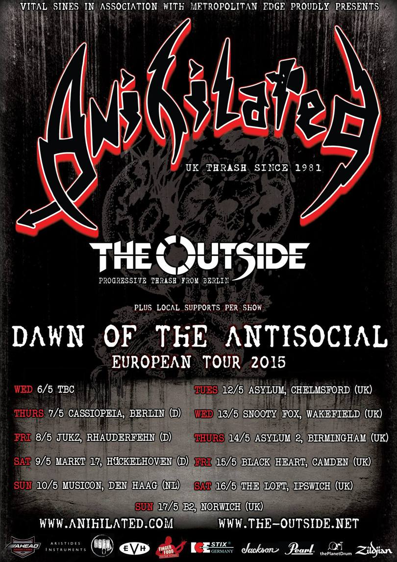 Anihilated tour