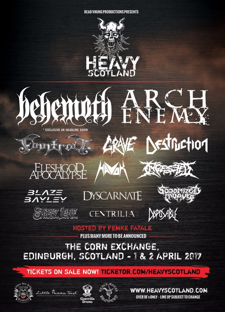 Heavy Scotland Poster 2