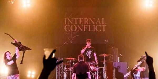 Internal conflict band pic