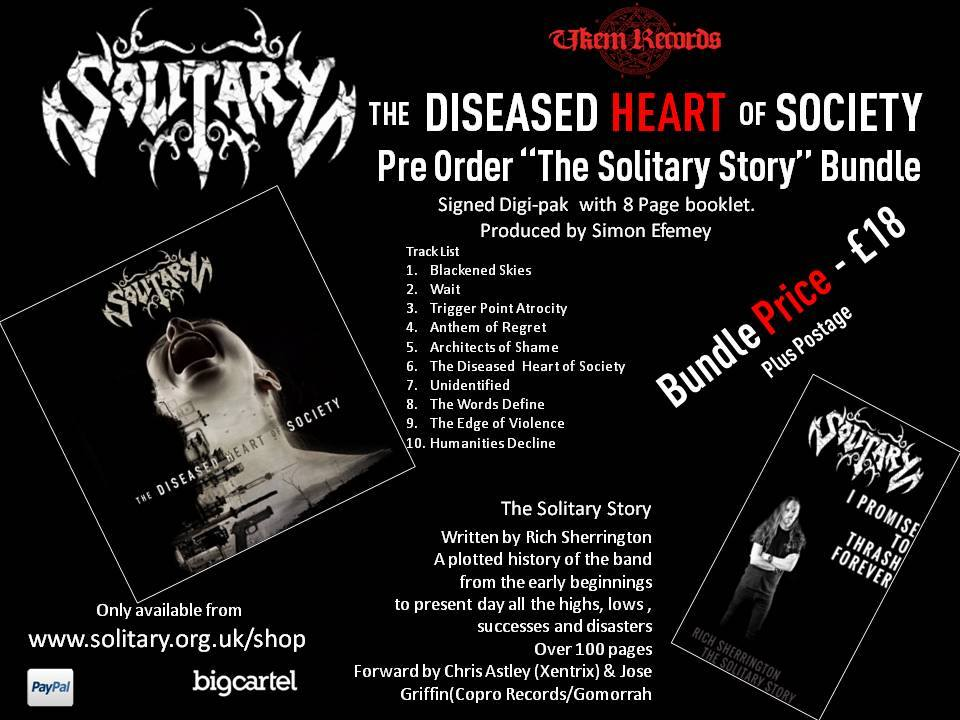 Solitary new album details