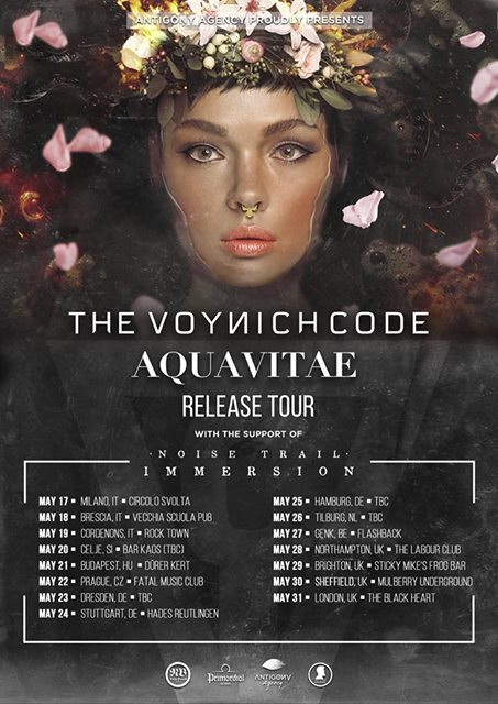 The Voynich Code Tour dates